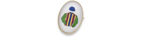 Colours Brooch